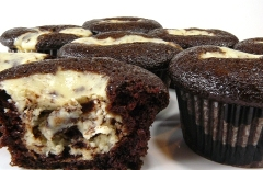 black-bottom cupcakes