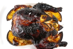 coriander & orange roasted chicken