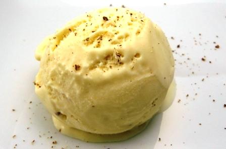 Eggnog Ice Cream | Los Gatos Foodie