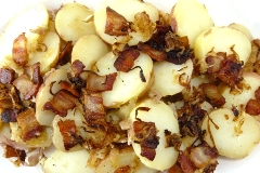 german warm potato salad