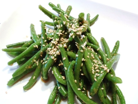 Ginger Garlic Green Beans | Los Gatos Foodie