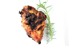grilled chicken with rosemary and Dijon