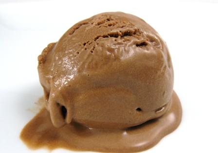 Milk Chocolate Ice Cream | Los Gatos Foodie