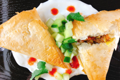 Samosas (Beef, Onion, & Sweet Potato)