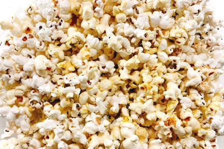 Stovetop Herb Popcorn | Los Gatos Foo on