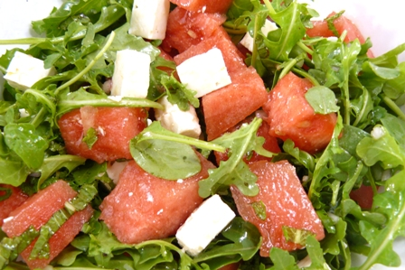 Watermelon and Feta Salad | Los Gatos Foodie
