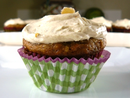 Zucchini Ginger Cupcakes | Los Gatos Foodie
